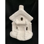 "Houses Fred & Wilmas house 6 1/2"" h 5"" w"