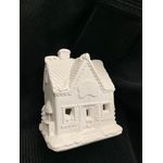 "House plastercraft nofire use acrylics candy store 4 1/2""h 3 3/4""w"