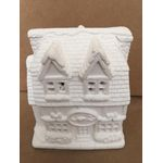 """House plastercraft no fire use acrylic paints Bed & Breakfast approx 5"""""""