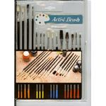 BOGO Artist starter brush set 15 brushes for wet or drybrush